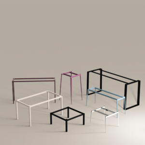 Frame table bases collection