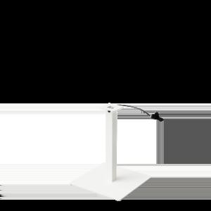 HOP Adjustable base White down