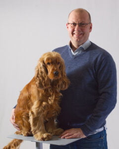 Juha Nevalainen and Caramel dog Business development Selka Oy