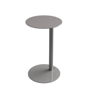WireUp side table Metallic