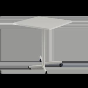 FLIP Folding table with castors