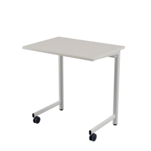 60-70 STUDY Table with castors