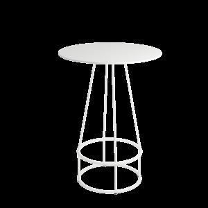 Siro table Ø80 110 White