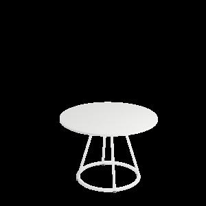 SELKA Siro sidetable Ø80 55 White