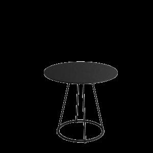 Siro Sidetable Ø80 73 Black