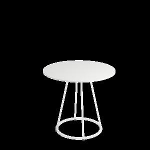 Siro sidetable Ø80 73 White