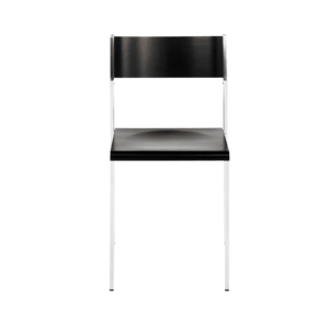 Flow stackable chair front